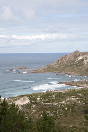 Trece Beach; Costa de la Muerte; Galicia; Spain Stock Photo - 91539461