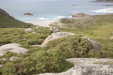 Forcados Point Beach,   Galicia, Spain