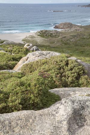 Forcados Point Coast, Costa de la Muerte; Galicia; Spain Stock Photo