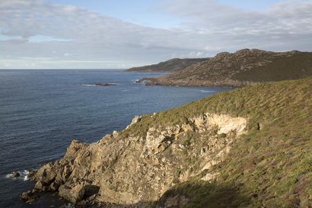 Estrunfo Point in Costa de la Muerte; Galicia; Spain
