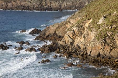 Estrunfo Point , Galicia, Spain