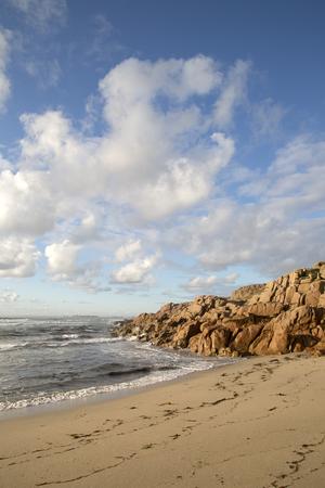 Forcados; Point; Beach; Costa de la Muerte; Galicia; Spain