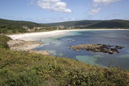 Langosteira Beach; Finisterre; Costa de la Muerte; Galicia; Spain Stock Photo