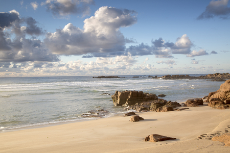 Forcados Point Beach; Costa de la Muerte; Galicia; Spain Stock Photo