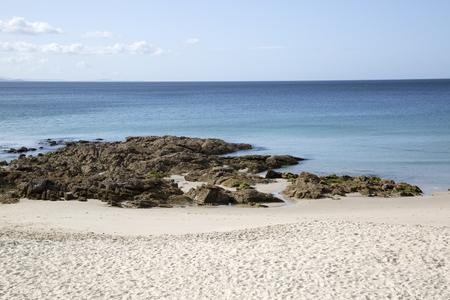 Rock at Langosteira Beach, Finisterre; Costa de la Muerte; Galicia; Spain