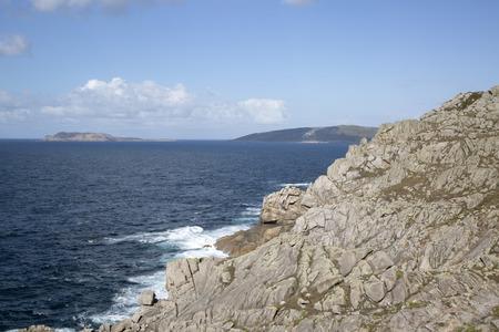 Cliffs and Coastline, Nariga Point; Fisterra; Costa de la Muerte; Galicia; Spain