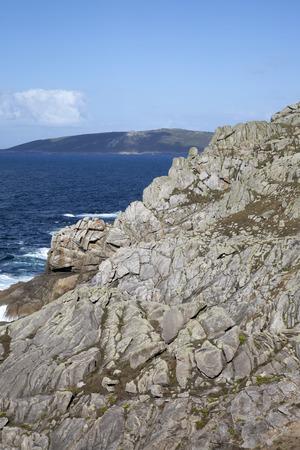 Cliff and Coastline, Nariga Point; Fisterra; Costa de la Muerte; Galicia; Spain