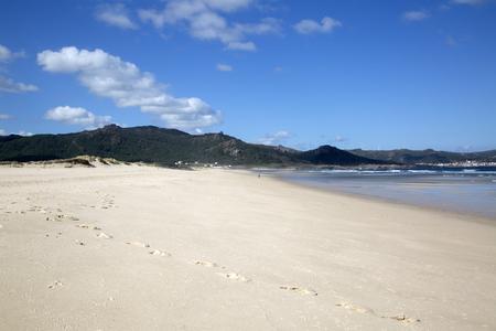 Beach at Laxe; Fisterra; Costa de la Muerte; Galicia; Spain