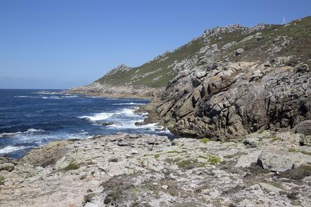Coastline at Point, Come; Fisterra; Costa de la Muerte; Galicia; Spain