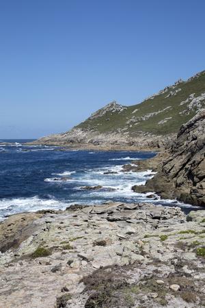 Coastline at Point; Come; Fisterra; Costa de la Muerte; Galicia; Spain