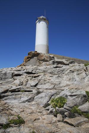 Lighthouse; Point; Come; Fisterra; Costa de la Muerte; Galicia; Spain Stock Photo