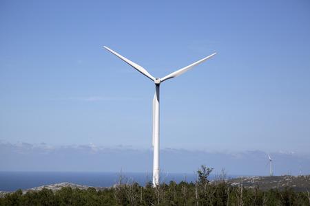 Wind Turbine, Come; Fisterra; Costa de la Muerte; Galicia; Spain Stock Photo - 91838825