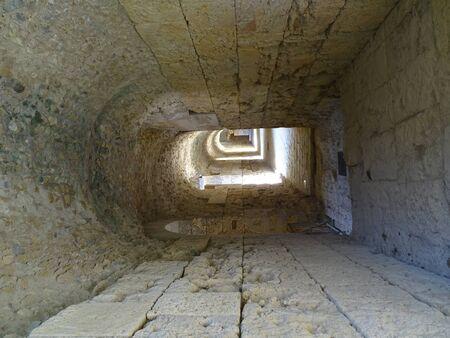 Italica Amphitheater-Tunnel