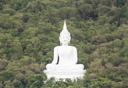 Buddha statue in the mountain at Saraburi province,Thailand  photo