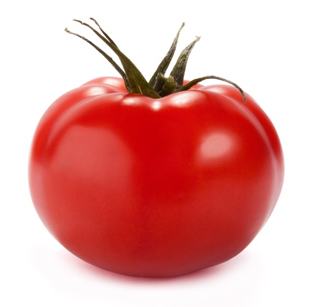 Juicy Isolated Tomato photo