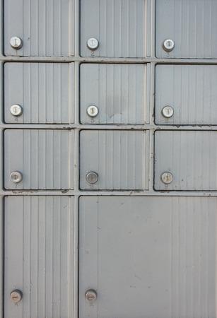 Postal boxes detail photo