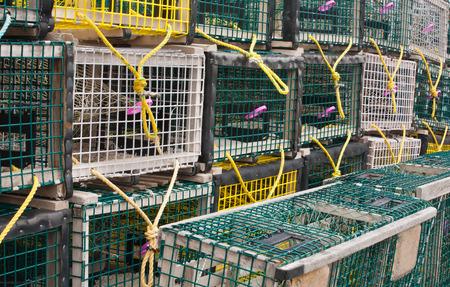 lobster pots: Lobster traps detail