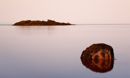 Receding tide at Five Islands. photo