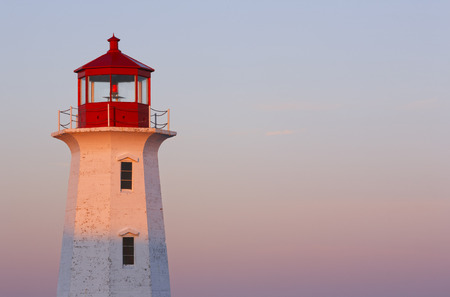 Lighthouse and sky  photo