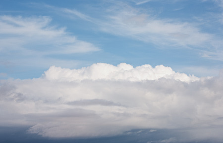 cirrus: Dramatic sky with Cumulus, Cirrus and Stratus clouds