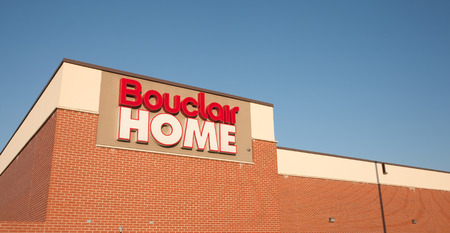 retail chain: DARTMOUTH, CANADA - SEPT 28, 2014: Bouclair Home is a Canadian home decorating retail chain headquarterd in Quebec. Presently, Bouclair has over 1200 employees.