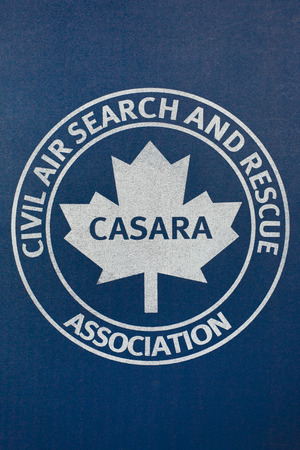 Debert, Canada - August 31, 2014: CASARA is the Civil Air Search and Rescue Association. It is a Canadian volunteer aviation group promotioning aviation safety, and providing air search support to the National Search and Rescue Program. 新聞圖片