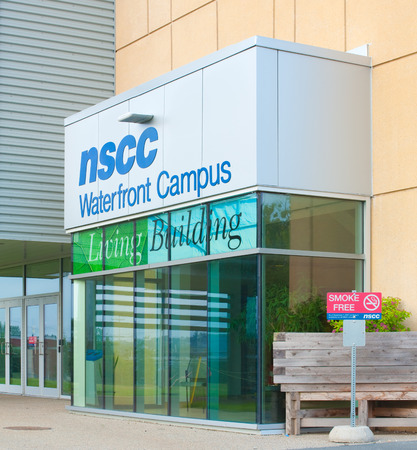 centres: DARTMOUTH,  CANADA - JULY 12, 2015: The Nova Scotia Community College or NSCC, is a community college in Nova Scotia with thirteen campuses and six learning centres. Editorial