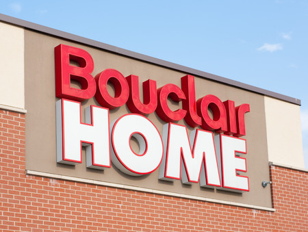 retail chain: DARTMOUTH,  CANADA - JULY 12, 2015:  Bouclair Home is a Canadian home decorating retail chain headquarterd in Quebec. Presently, Bouclair has over 1200 employees.