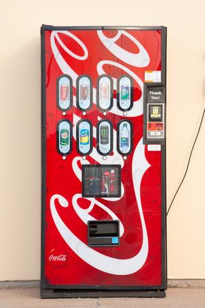 DARTMOUTH,  CANADA - JULY 12, 2015: Coca-Cola is a soft drink sold around the world by the Coca-Cola Company, headquartered in Atlanta, Georgia.
