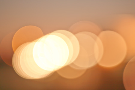 warm color: Warm color lights abstract bokeh blur Stock Photo