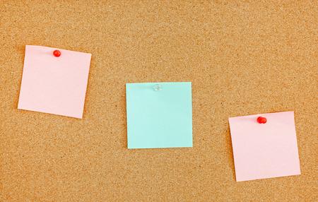inform information: Notes on cork bulletin board
