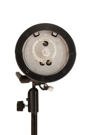 monolight: Studio flash monolight head on white