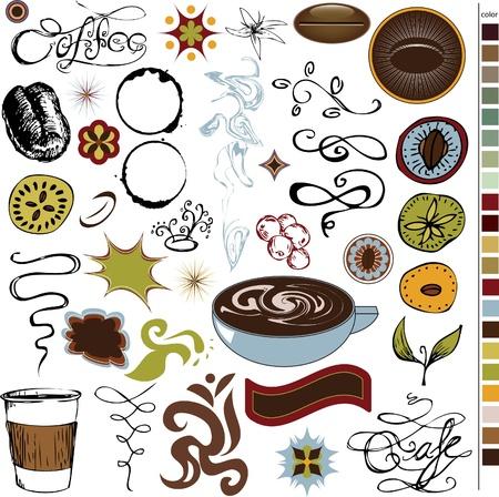 Coffee Stuff Ilustracja