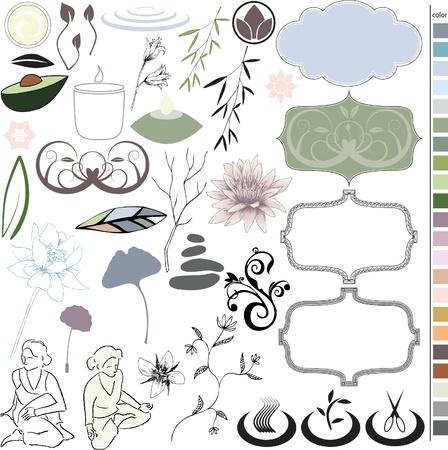 Spa Stuff Иллюстрация