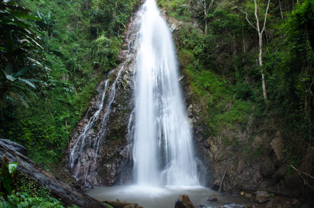 Khun Korn waterfall in Chiang Rai province, Thailand