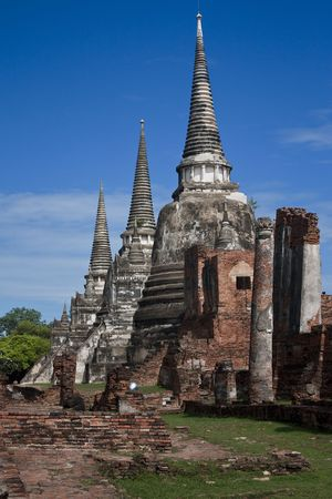 Temple complex in Thailand  photo