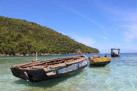 haiti: Boats in Haiti