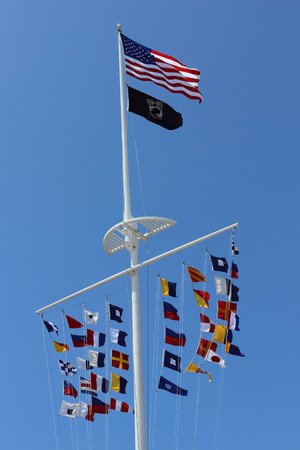 jones: Nautical Flags at Jones Beach