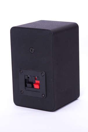 Small Black Speaker Rear