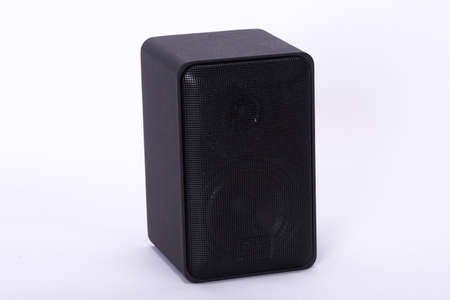 Small Black Speaker Front
