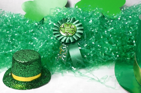 An image showing the concept of St Patricks Day with a green hat Stock Photo - 13638403