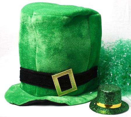 帽子でセント ・ パトリックス ・ デーの概念を示す画像 写真素材