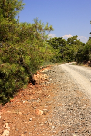 An image showing part of the Lycian Way near Oludeniz in Turkey Stock Photo - 13727982