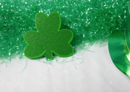 An image showing the concept of St Patricks Day with Clover Stock Photo - 14517992