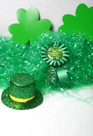 An image showing the concept of St Patricks Day with a green hat Stock Photo - 14517981