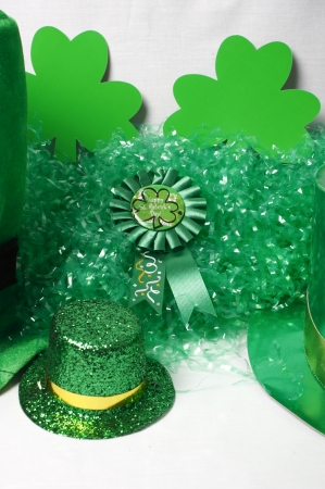 An image showing the concept of St Patricks Day with a green hat Stock Photo - 14517987