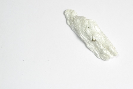 talc: An image showing a small peice of the hydrated magnesium silicate mineral talc Stock Photo