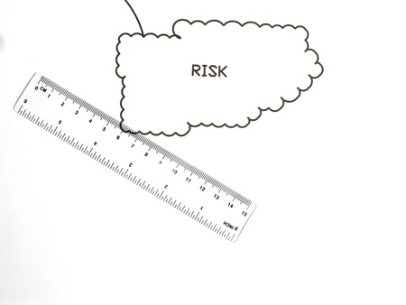An image showing the concept of measuring ones attitude to risk