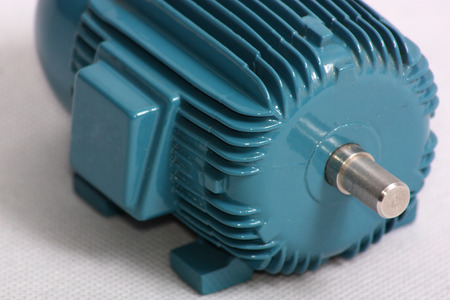An image showing the shaft end view of a model of an electric motor