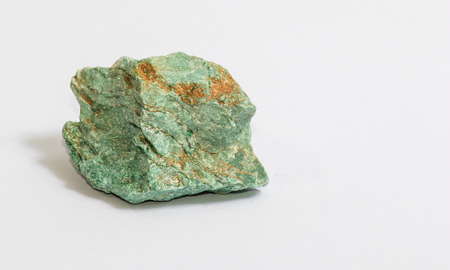 A small piece of green muscovite mica known as Fuchsite